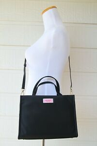 Kate Spade New York Sam Nylon Medium Satchel PXRUA174 Black