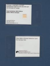 Heartwood Fidc Fiber Optic Infrared Detector Card Light Gauge Polarity Tester