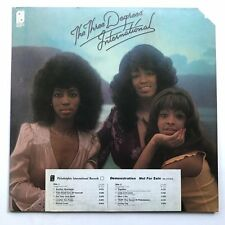 Three Degrees International LP VG+/NM 1975 White Label Promo