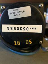 AQUABOT® POOL CLEANER PUMP MOTOR PART# A6010 Rev A