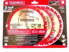 Framing Circular Saw Blade 7-1/4 in. 24T 3 Pac lumber hardwood softwood plyWood