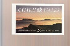 1992 WALES CYMRU PRESTIGE BOOKLET DX13 COMPLETE