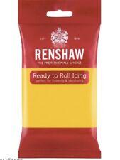 Renshaw Amarillo 250g Fondant Sugarpaste Glaseado Listo Para Rodar