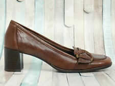 BELMONDO ▲ Pumps Gr. 39 Damen Leder Braun Shoes Schuhe Shoes