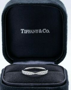 Tiffany & Co. Harmony 0.23 ct band in Platinum, size 6