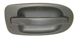 Genuine GM Parts 10298455 10322222 Black Outside Door Handle Rear Right