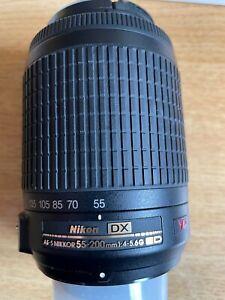 Nikon Nikkor AF 55-200mm F/4-5.6 AF-S DX VR II ED Lens