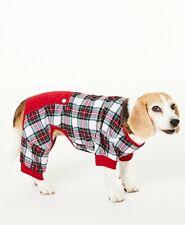 New listing Matching Family Pajamas Stewart Plaid Christmas Dog-Pet Pajamas - Large #5992