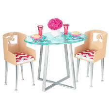 BARBIE FURNITURE - DINNER DATE/2014/NEW/MINT/NRFB/AGES 3+/USA FREE SHIPPING