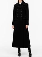 ZARA BNWT. WOMAN LIMITED EDITION WOOL BLEND COAT BLACK - 8419/722-SALE! S L