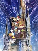 Disney Parks LR Trading Pin American Adventure EPCOT MYSTERY WA OR Oregon Mickey