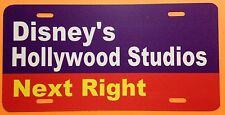 Walt Disney World Road Sign Inspired License Plate Disney's Hollywood Studios