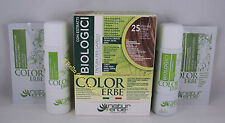 Naturerbe COLOR ERBE bio Tinta TINTURA biologica capelli 60ml 25 BIONDO MIELE