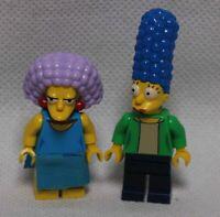 Lego Minifigure Marge and Selma The Simpsons
