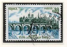 TIMBRE FRANCE OBLITERE N° 1997 PONT NEUF DE PARIS /