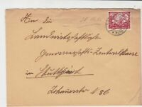 germany 1933 wagners opera stamps cover ref 20074