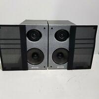 Vintage Philips Legend ii 2 Loudspeakers Hi-End Audiophile 120w 90's Speakers