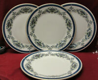 Set Four (4) ROYAL DOULTON China - VENETIA Pattern H5042 - DINNER PLATES
