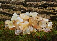 CITRINE IN QUARTZ Rough Stones - 1 lb Lots - Tumbler Rocks