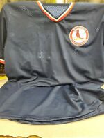 St. Louis Cardinals AT&T Navy Blue Mesh Pullover Jersey Men's Shirt XL Giveaway