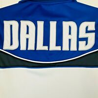 DALLAS Mavericks UNK Blue Label NBA  Mens Jersey Jacket Size Small