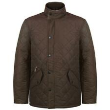 Barbour MQU0281 International Mens Powell Quilted Jacket In Olive Sizes S - 3XL