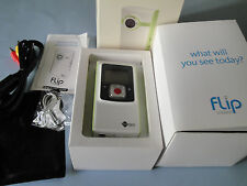 Flip Ultra Video Camera - White, 1 GB, 30 Minutes 1st Generation