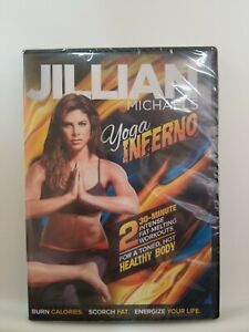Jillian MIchaels Yoga inferno Workout DVD Brand new Factory Sealed Free Shipping