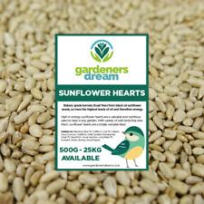 GardenersDream Sunflower Hearts - Kernels Premium Seed Bakery Wild Bird Food