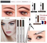 Maquillage Imperméable Tatoo Stylo Crayon Sourcils longue durée envoi express