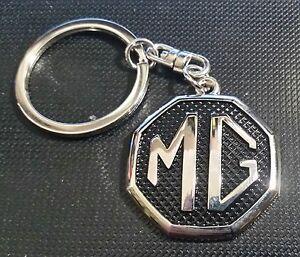 MG Schlüsselanhänger Logo schwarz - Maße Emblem 34x34mm