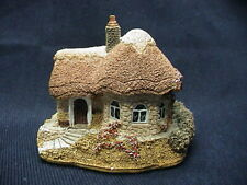 1990 Lilliput Lane Chine Cot Collectible Cottage with box and deed
