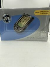 Palm M 105 Handheld PDA New In Box 2000 Factory Sealed and Vintage