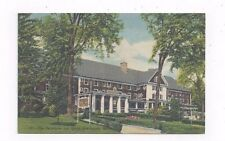 MA Great Barrington Massachusetts Berkshire Inn linen post card
