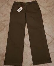 NWT Women's Size 28x32 Replay Jeans Brown Casua Pants Boot Cut