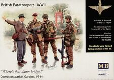 Master Box 1/35 paracaidistas británicos de la Segunda Guerra Mundial Operation Market Garden # 3533