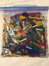 475 Piece Bulk Lot Loose Assorted K'NEX Building Pieces and Toy Parts LOT KNEX