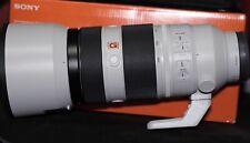 Sony Fe 100-400mm f/4.5-5.6 Gm Oss Lens E-Mount