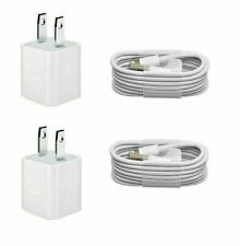 4 PCS  Wall Charger  &  USB Cables, For Apple iPhone 6 5 7 8 9 CAMBO DEAL