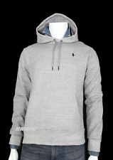Ralph Lauren Hooded Sweatshirt Hoodie Fleece Gray Pullover Pony 2xl