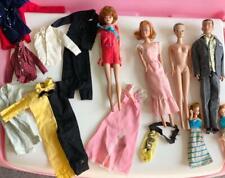 Lot of vintage 1960's Barbie's (Ken, Midge, fashion) + more