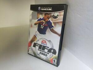 FIFA SOCCER 2002 FOR NINTENDO GAMECUBE CIB Complete G64