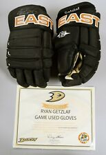 Ryan Getzlaf Double Signed Game Used Worn Anaheim Ducks Gloves Ducks Loa Ts021