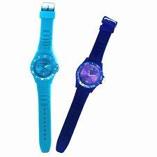 Quartz Silicone Smaller Face Sports Watch - Jelly Wrist Watch
