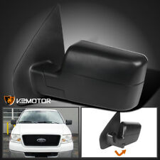 2004-2006 Ford F150 Manual Non-Powered Foldable Side Mirror Left Driver Side
