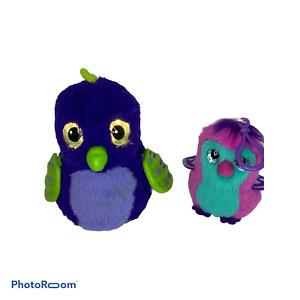 🍊 Hatchimal Egg Draggles Green/Blue - Spinmaster + bonus hanger plush keychain