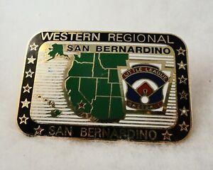 Little League Baseball PIN - HEAVY Cloisonne - Western Regional San Bernardino
