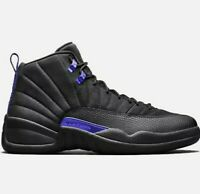 Nike Air Jordan 12 Retro BLACK DARK CONCORD Size 12 with a receipt Free Shipping