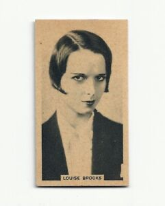 1929  TOBACCO CARD SEXY MOVIE STAR LOUISE BROOKS  # 47