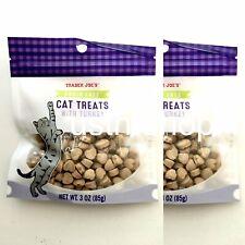 Trader Joe's Cat Treats, Turkey soft chew, New Set of 2,Grain Free